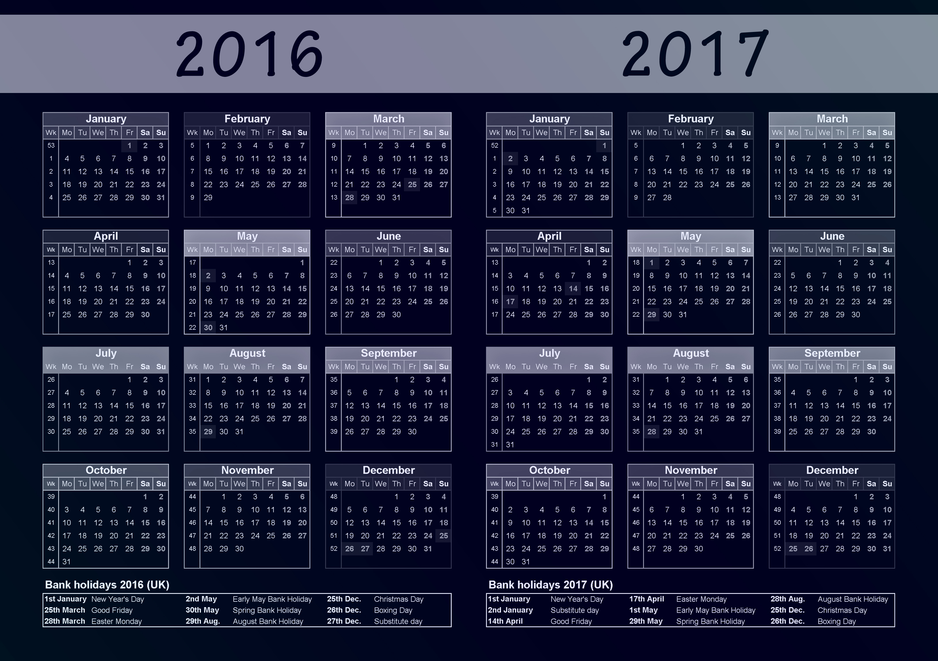 Calendar Of Unofficial Holidays | just b.CAUSE