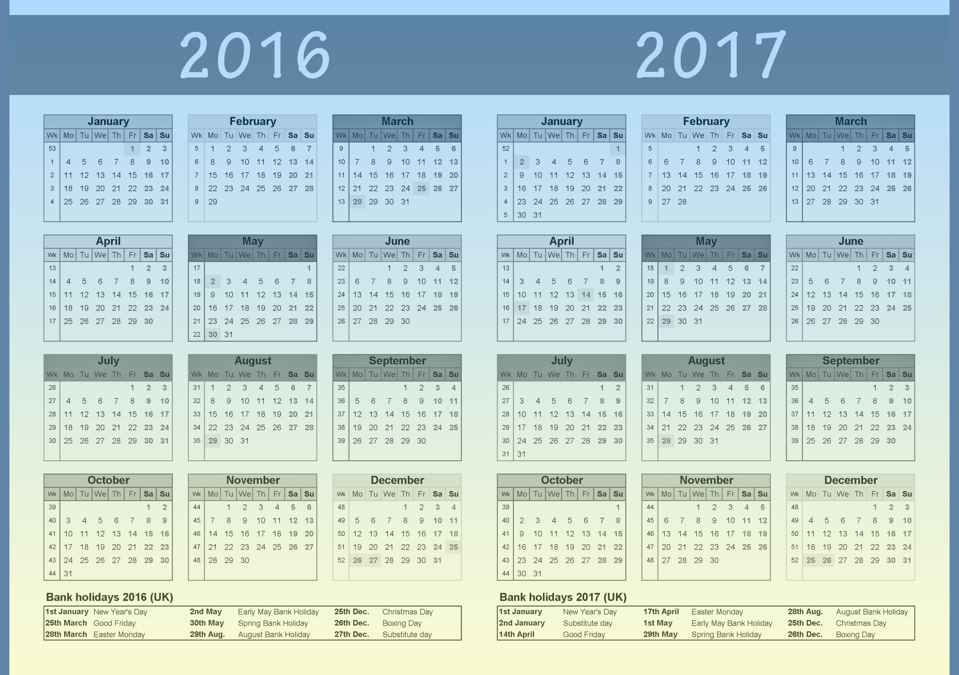 Calendar 2015 And 2016 And 2017 Related Keywords & Suggestions ...