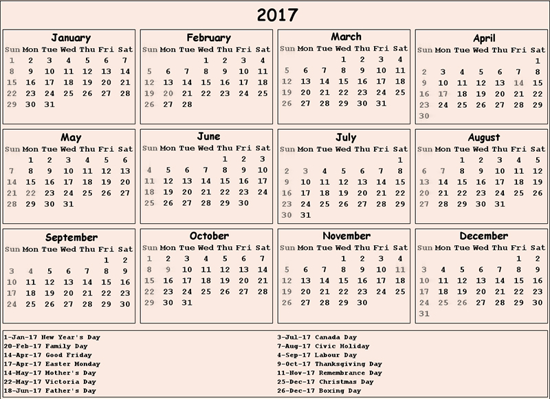 Excel calendar templates - Excel - support.office.com