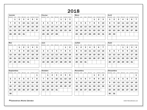 calendrier imprimable 2018 2019 calendar printable 2018 download 2017 calendars free. Black Bedroom Furniture Sets. Home Design Ideas